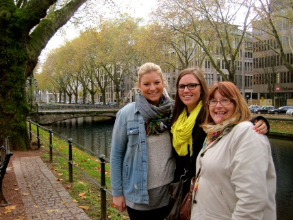 Ann, Laura and I in Düsseldorf