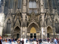Front of Cologne's Cathedral