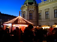 Christmas Market at Belvedere