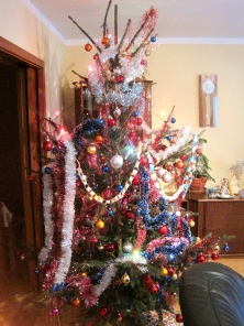 The decorated tree