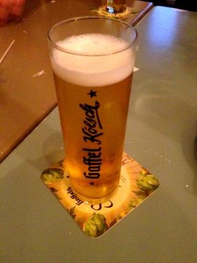 Cologne's famous beer Kolsch