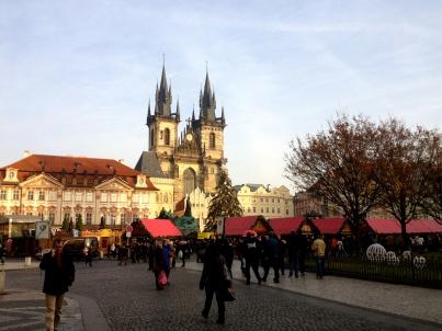 Christmas Market at Staroměstské Náměstí