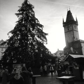 Vanočni trhy at Staroměstské Náměstí
