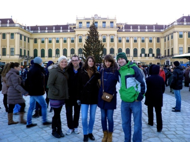 Friends and I at Schönbrunn Palace