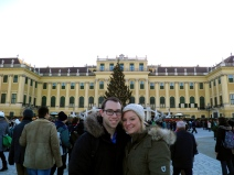 Rudi and I at Schönbrunn Palace